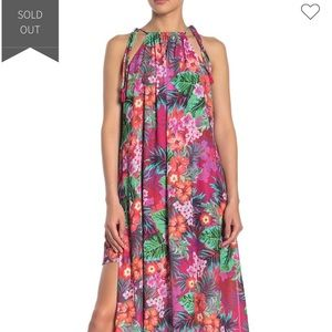 Show Me Your Mumu Aloha Rochester Maxi Dress Med